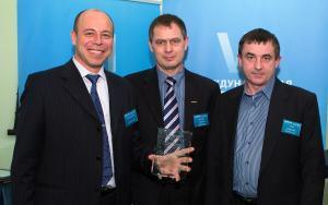 Слева направо: Борис Паньков, Сергей Мазовка, Александр Гуров