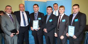 Слева направо: Алексей Фролов, Борис Паньков, Сергей Мазовка, Александр Гуров, Станислав Емельянов, Сергей Кулаков, Иван Москалюк.