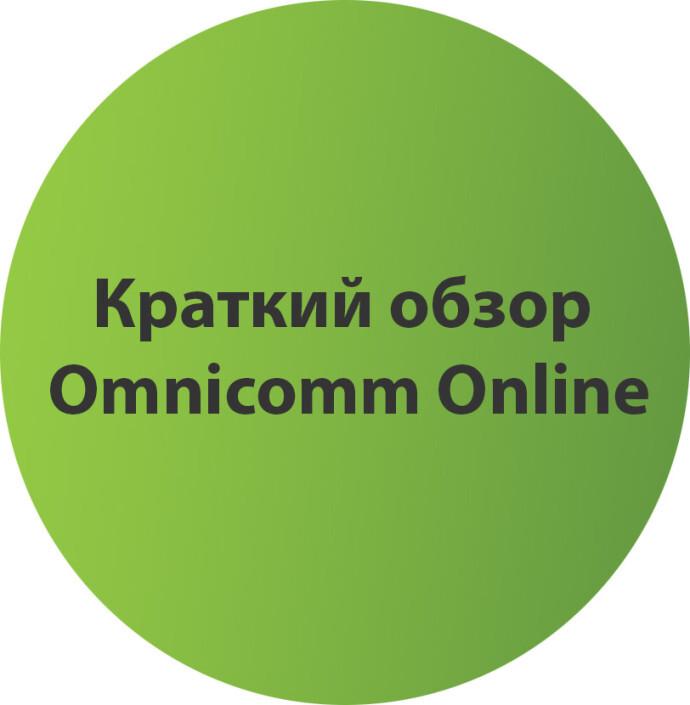 Краткий обзор Omnicomm Online